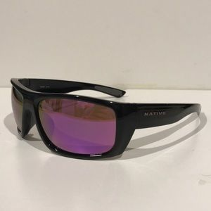 Native purple lenses sunglasses